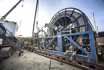 hydraulic oil gas equipment bottom