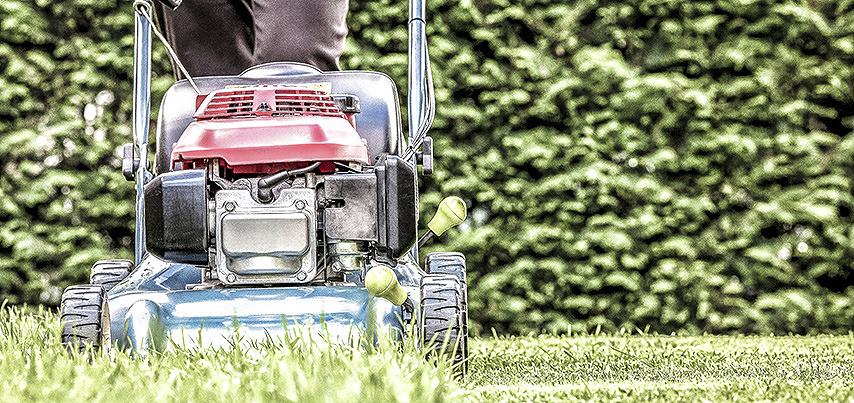 Walk behind lawn mower
